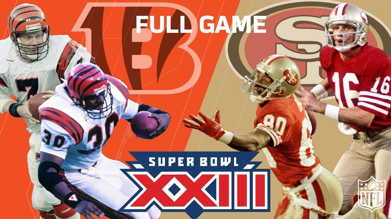 "Super Bowl Xxiii: ""montana & Rice's Legendary Performance"" | Bengals Vs.  49Ers | Nfl Full Game regarding 49Ers Last Super Bowl"