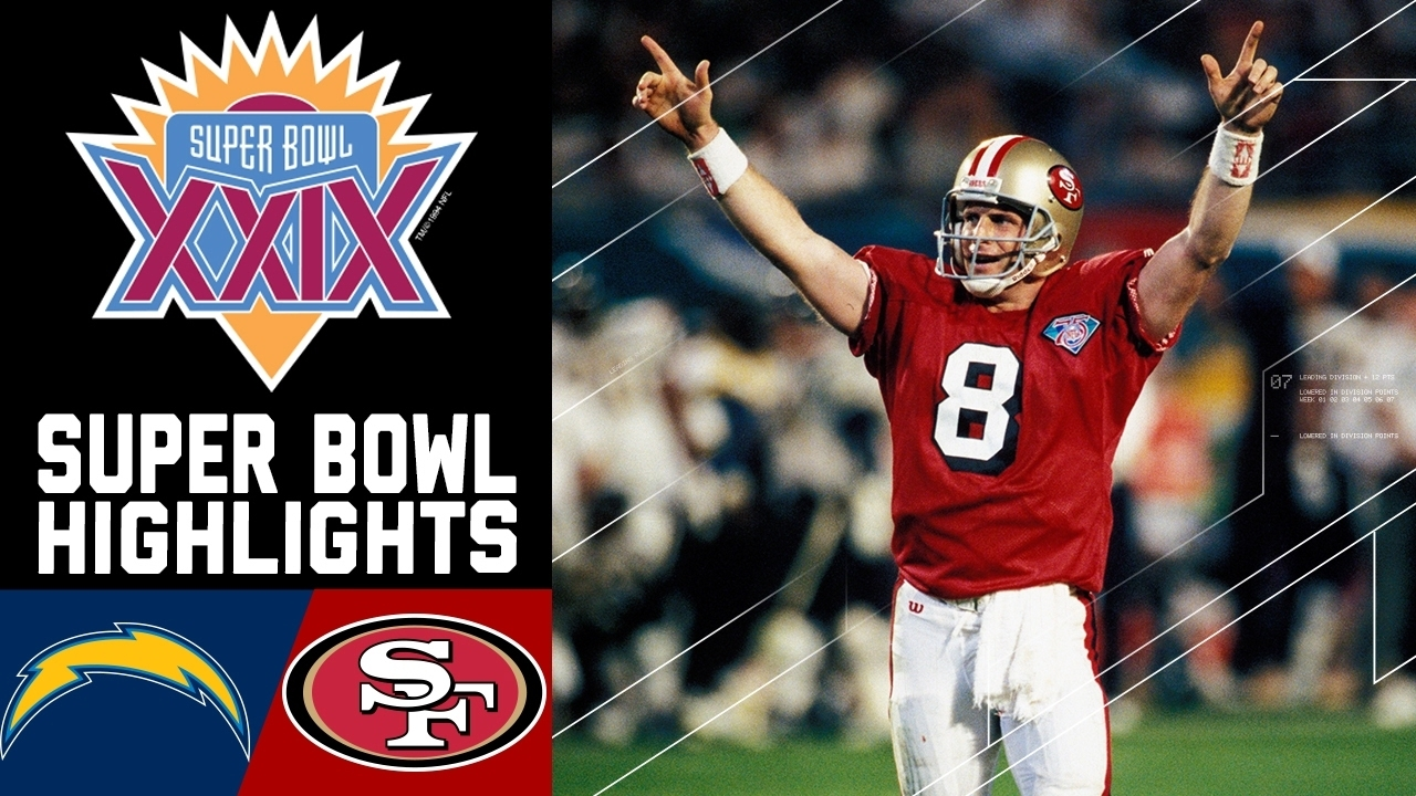 Super Bowl Xxix Recap: Chargers Vs. 49Ers | Nfl for 49Ers Last Super Bowl