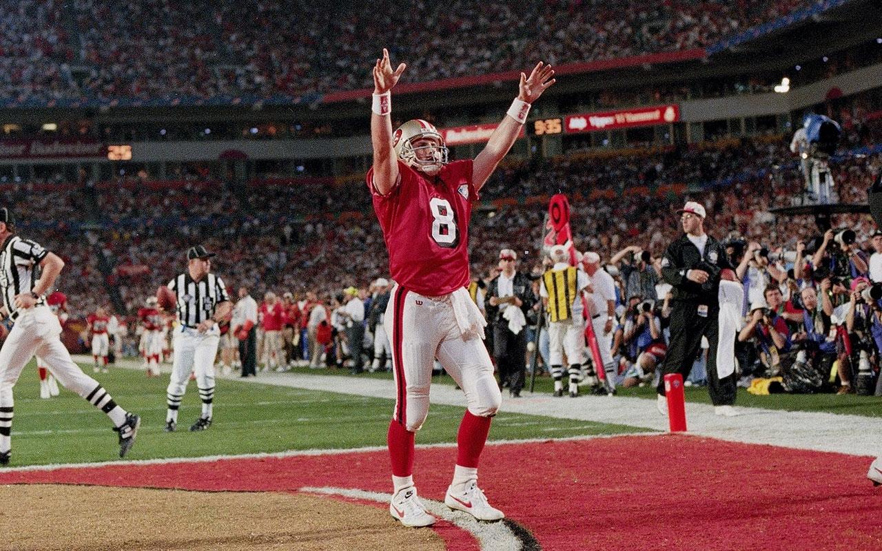 Super Bowl Xxix: Steve Young, 49Ers Dismantle Chargers | Vault intended for Steve Young Super Bowl