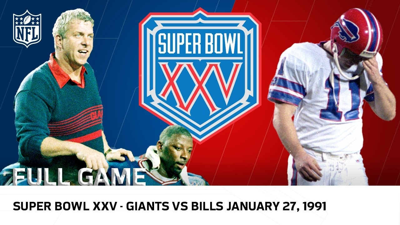 "Super Bowl Xxv | Bills Vs. Giants ""wide Right"" | Nfl Full Game with regard to Super Bowl 25 Winner"