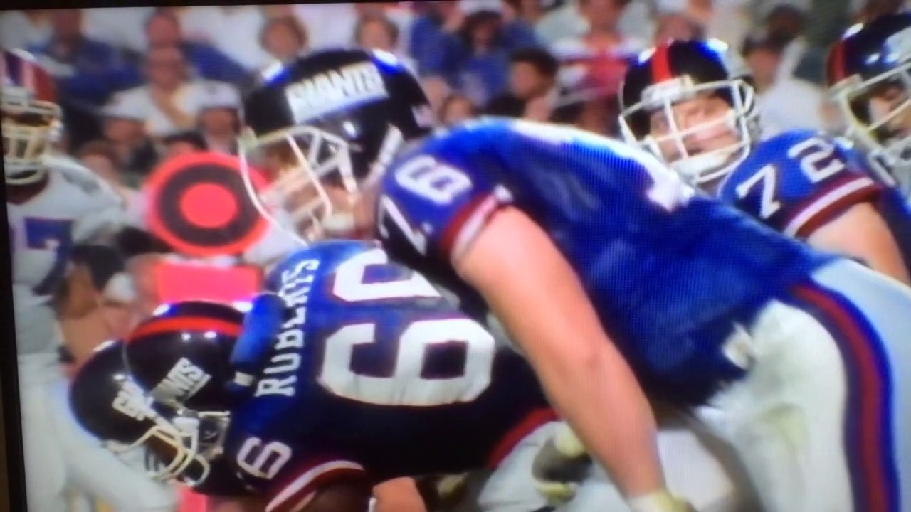 Super Bowl Xxv: New York Giants Vs. Buffalo Bills (1991) in New York Giants Nfl Championships 1991