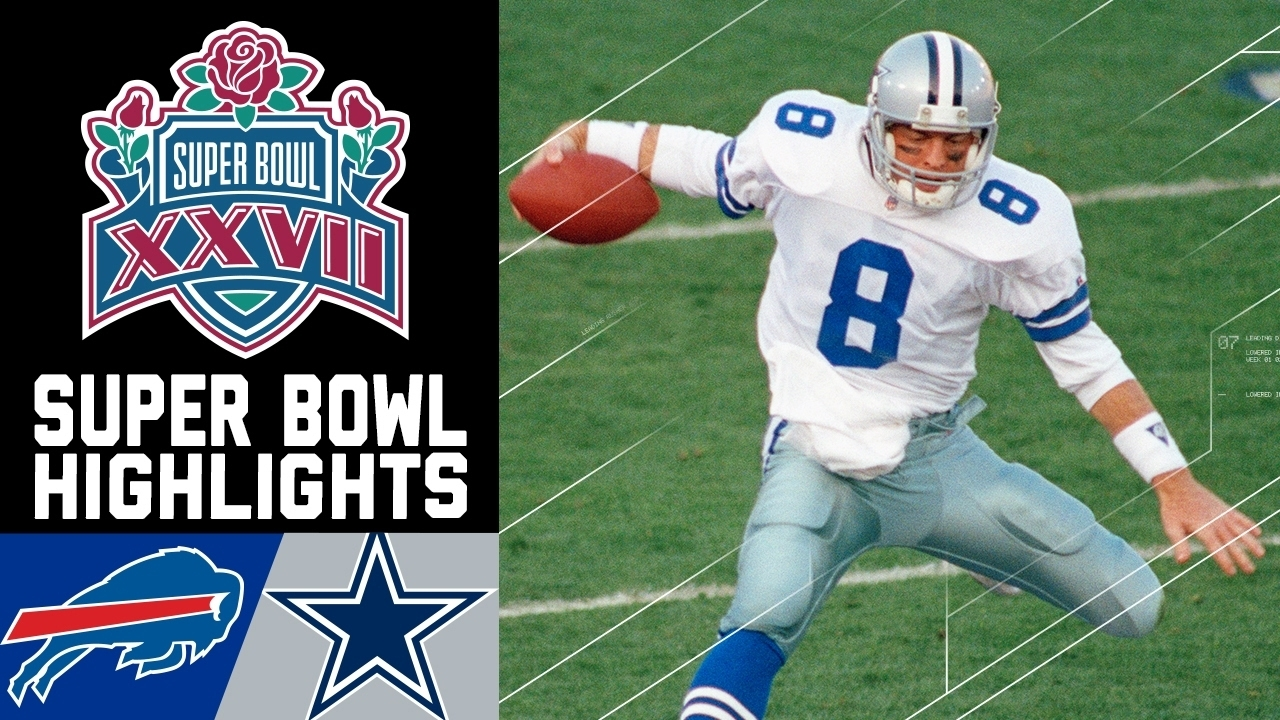 Super Bowl Xxvii Recap: Bills Vs. Cowboys | Nfl pertaining to Cowboys Last Super Bowl