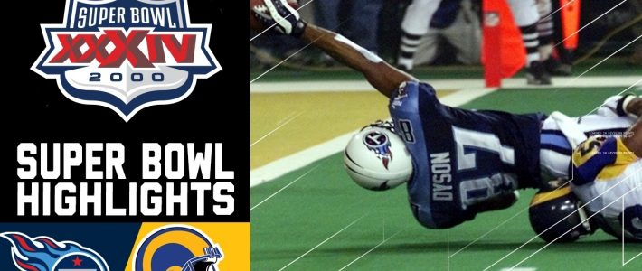 Super Bowl Xxxiv Recap: Rams Vs. Titans | Nfl throughout Tennessee Titans Super Bowl