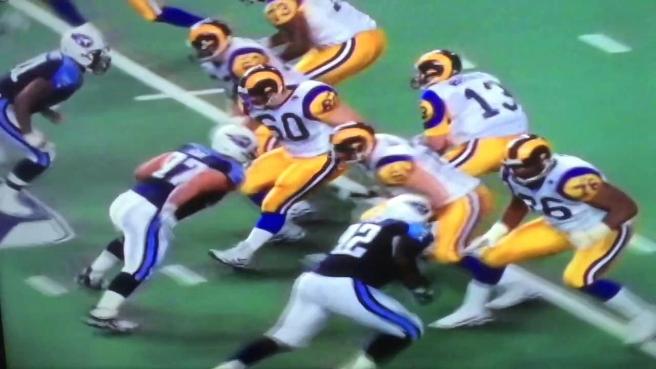 Super Bowl Xxxiv: St. Louis Rams Vs. Tennessee Titans (2000) in Tennessee Titans Super Bowl