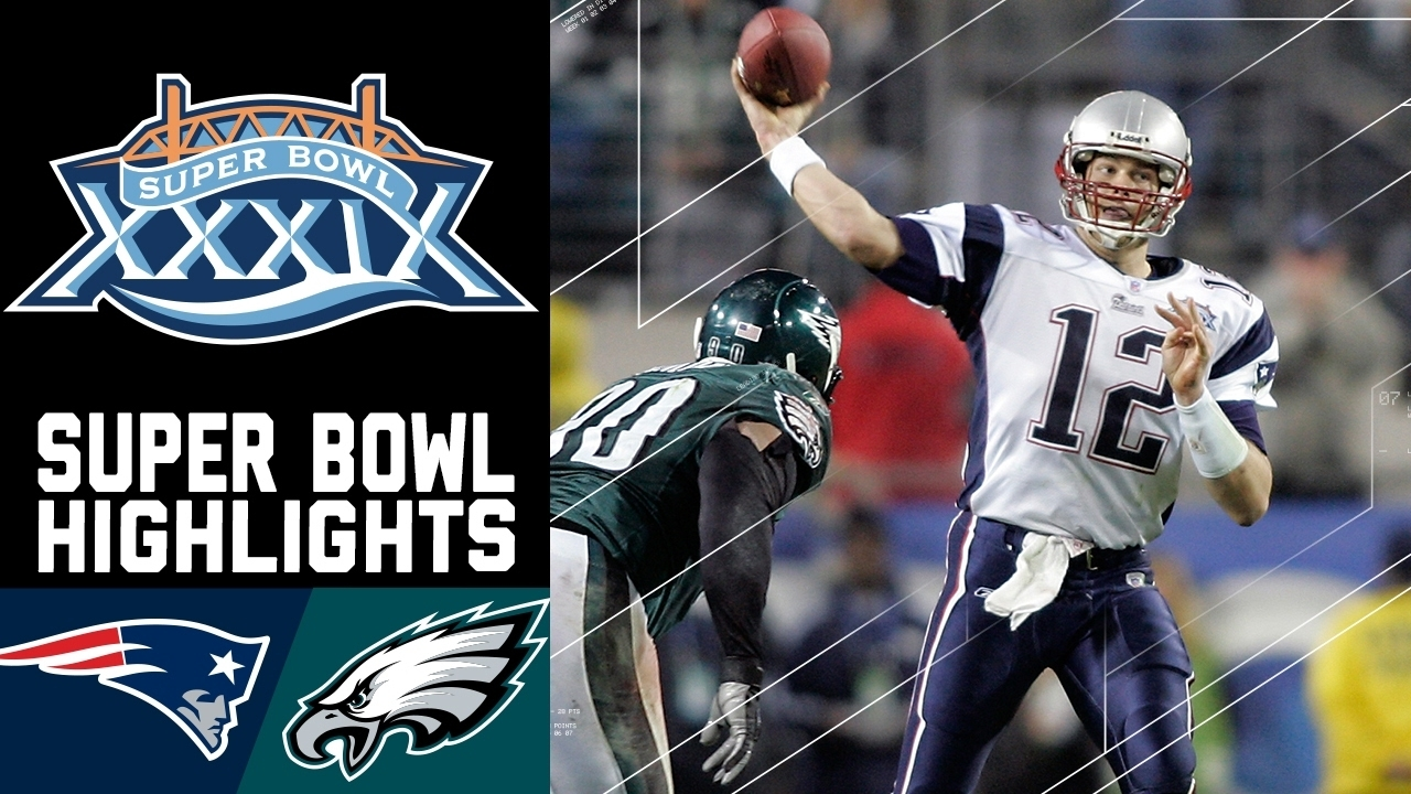 Super Bowl Xxxix Recap: Patriots Vs. Eagles | Nfl inside Eagles Patriots Super Bowl