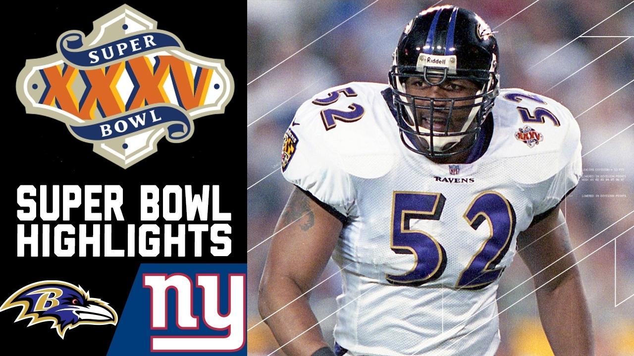 Super Bowl Xxxv Recap: Ravens Vs. Giants | Nfl regarding Ravens Giants Super Bowl