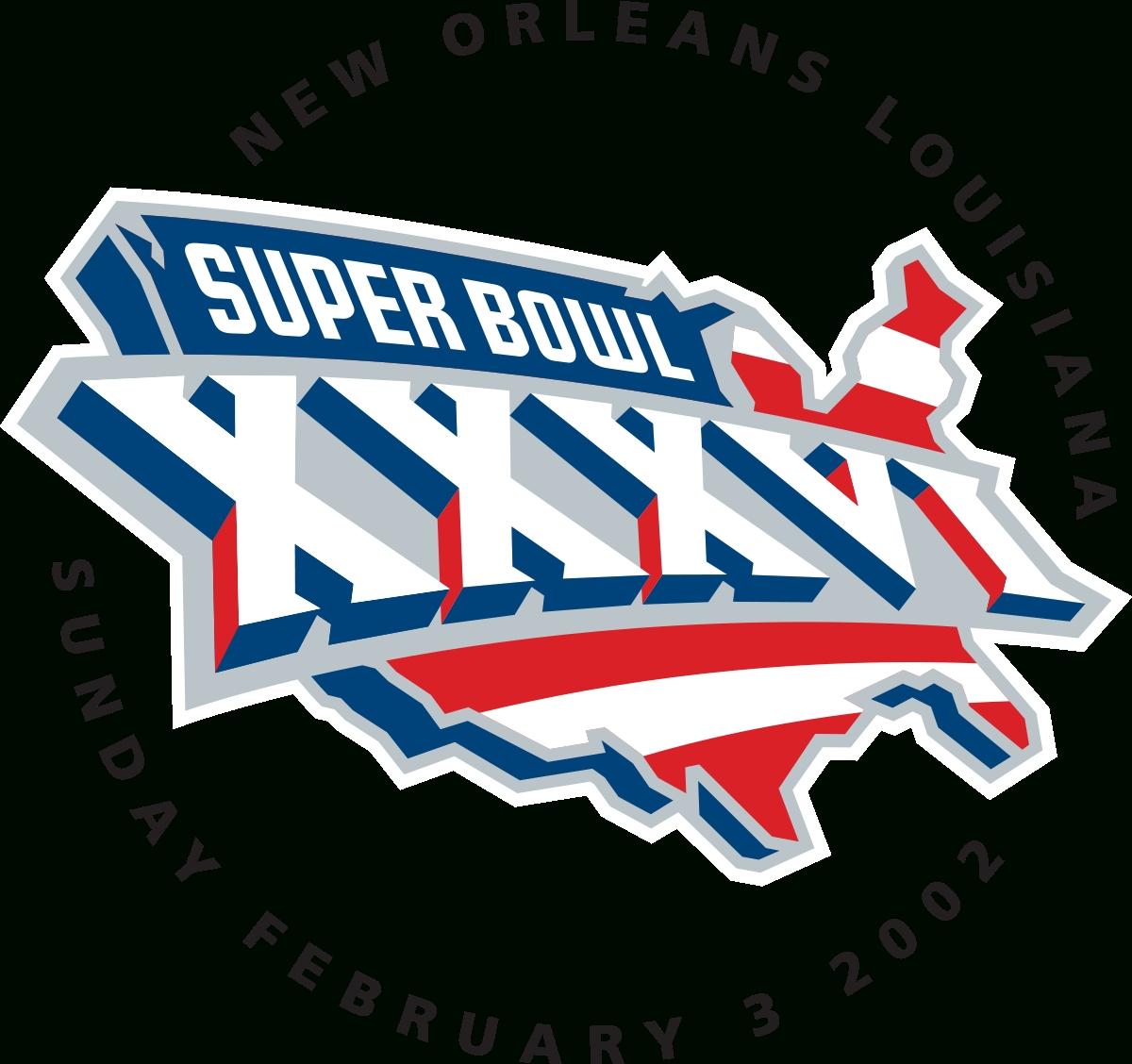 Super Bowl Xxxvi - Wikipedia regarding Super Bowls By Year