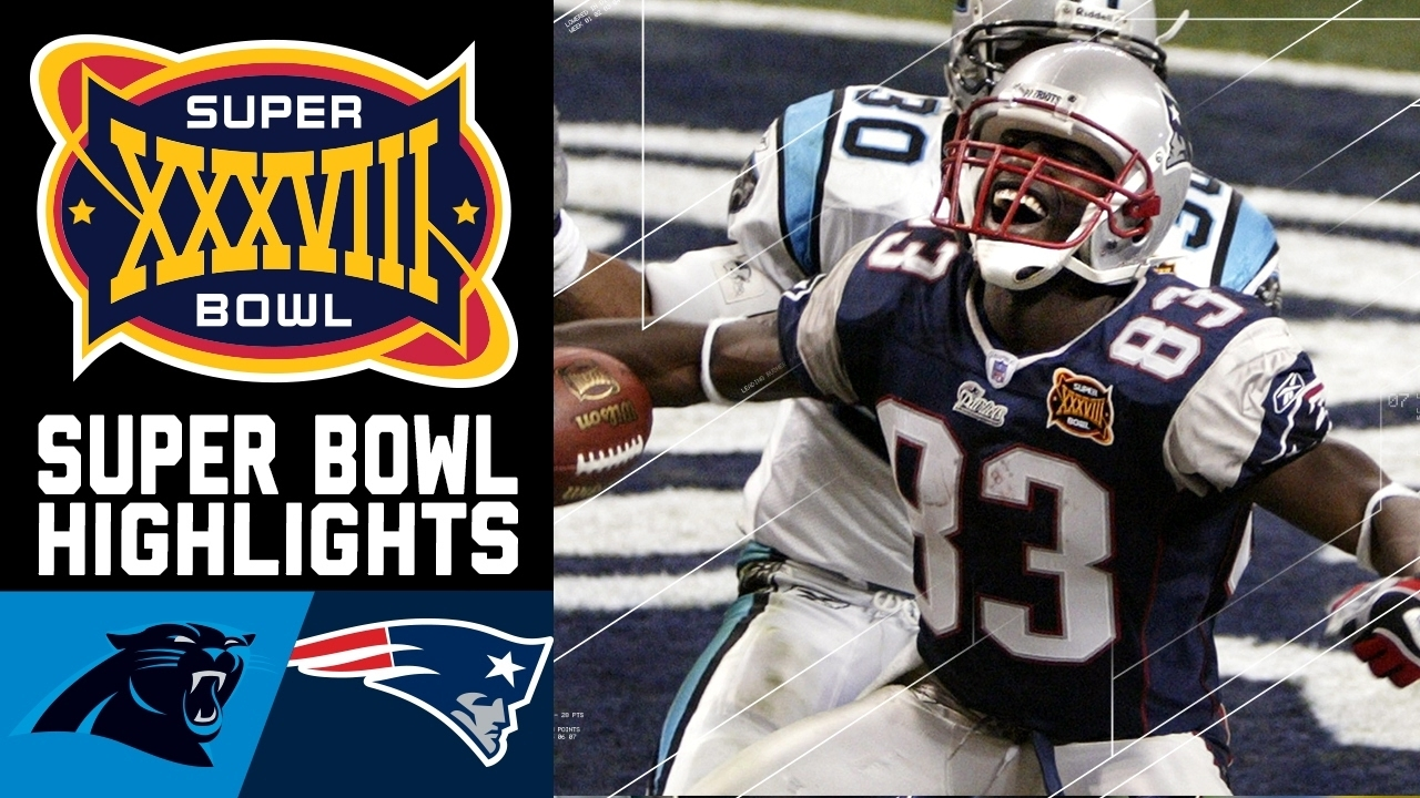 Super Bowl Xxxviii Recap: Panthers Vs. Patriots   Nfl regarding Patriots Panthers Super Bowl