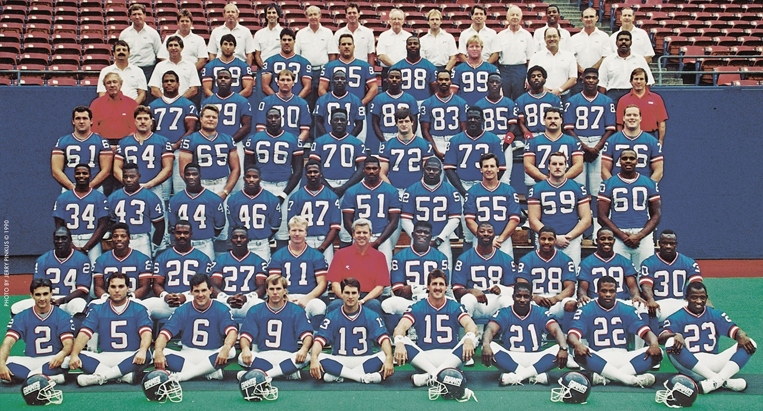 Super Coaching Staff throughout New York Giants Nfl Championships 1991