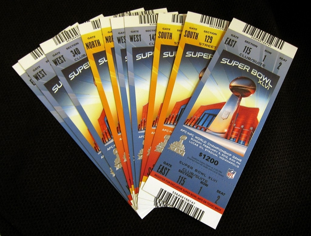 Super (Insurance) Coverage For The Super Bowl within Nfl Super Bowl Tickets