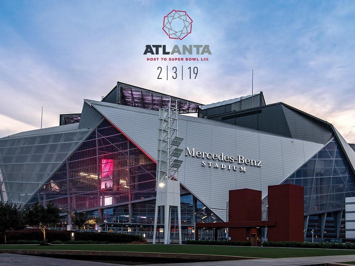 Superbowl Liii Brings Big Business To Atlanta - Atlanta with regard to Atlanta Stadium Super Bowl Seating