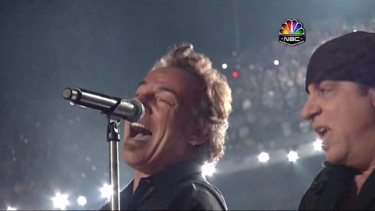 Superbowl Xliii Halftime Show 2009 Bruce Springsteen Full Hd within Bruce Springsteen Super Bowl