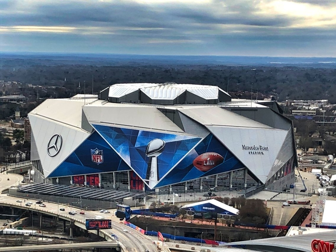 Take A Tour Of The Stadium Hosting The 2019 Super Bowl for Atlanta Super Bowl Stadium Address