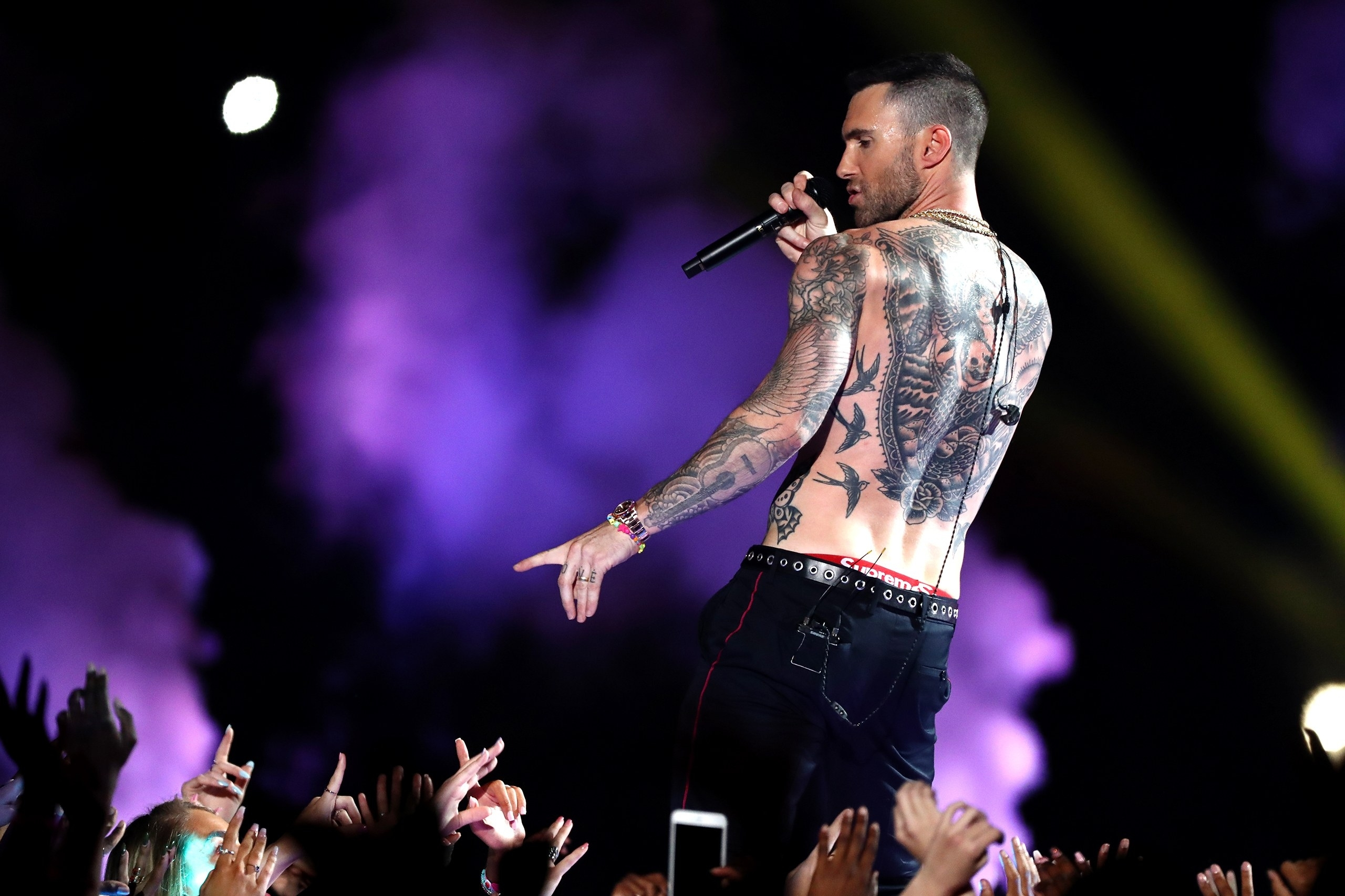 The Artless Spectacle Of Maroon 5 At The Super Bowl | The intended for Super Bowl Maroon 5
