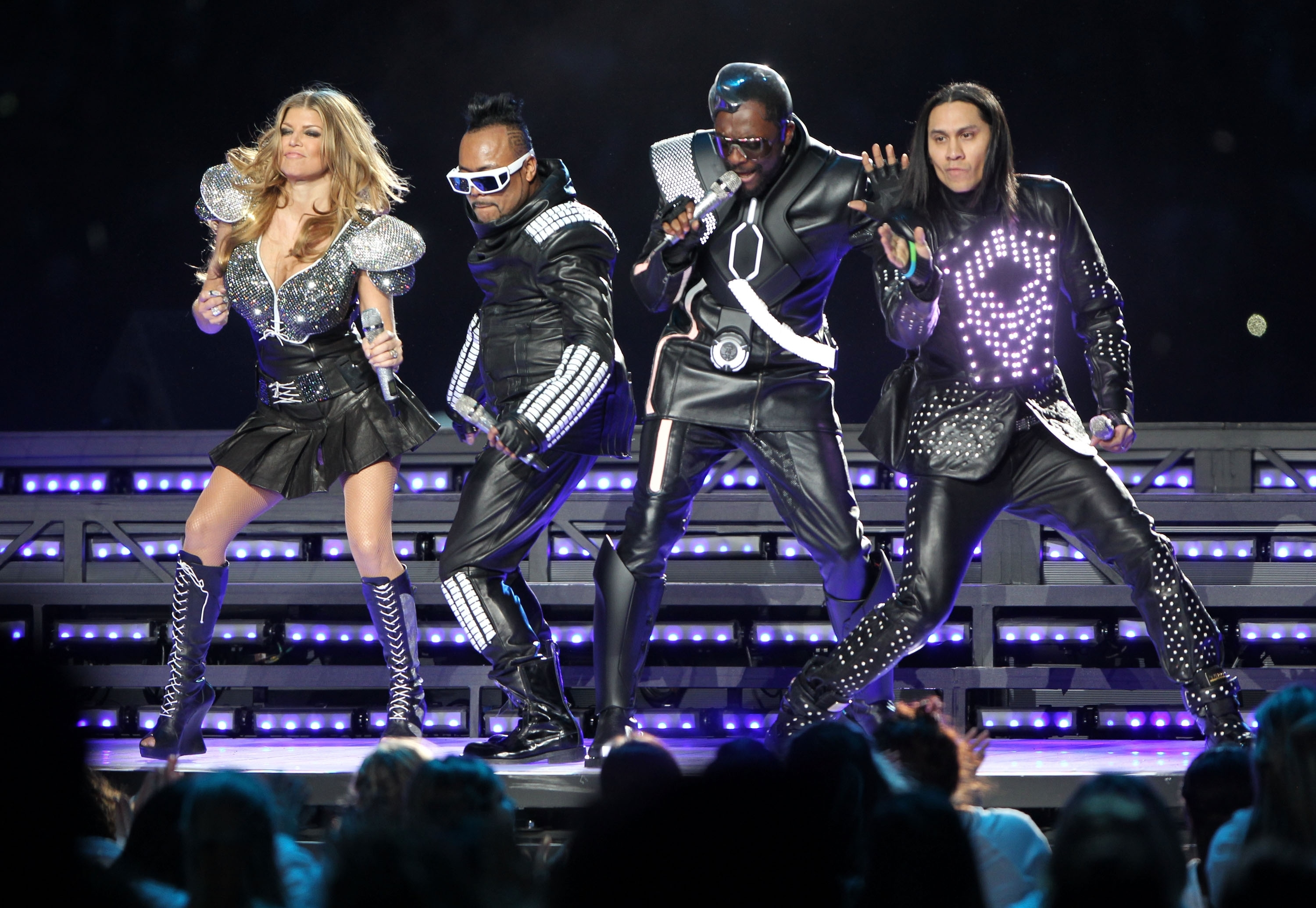 The Definitive Ranking Of The Last 5 Super Bowl Halftime intended for Black Eyed Peas Super Bowl