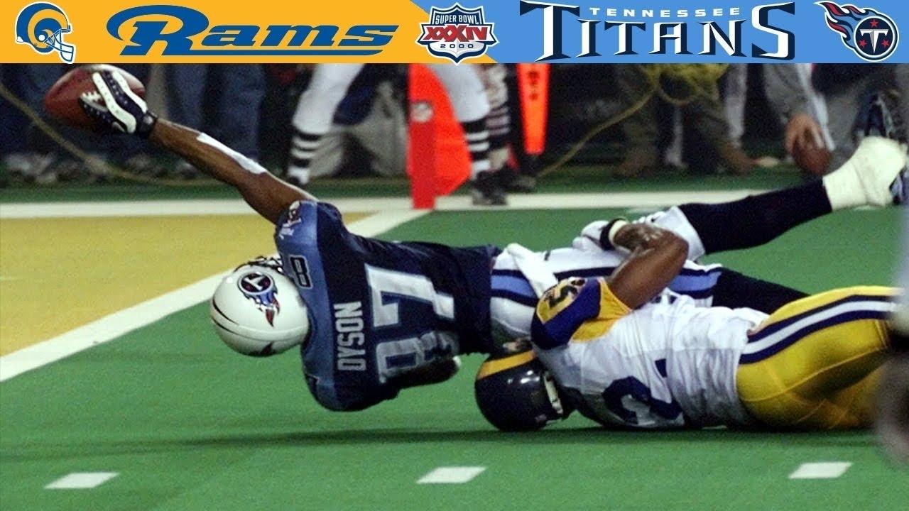 """the Longest Yard"" (Rams Vs. Titans, Super Bowl 34) with Rams Titans Super Bowl"