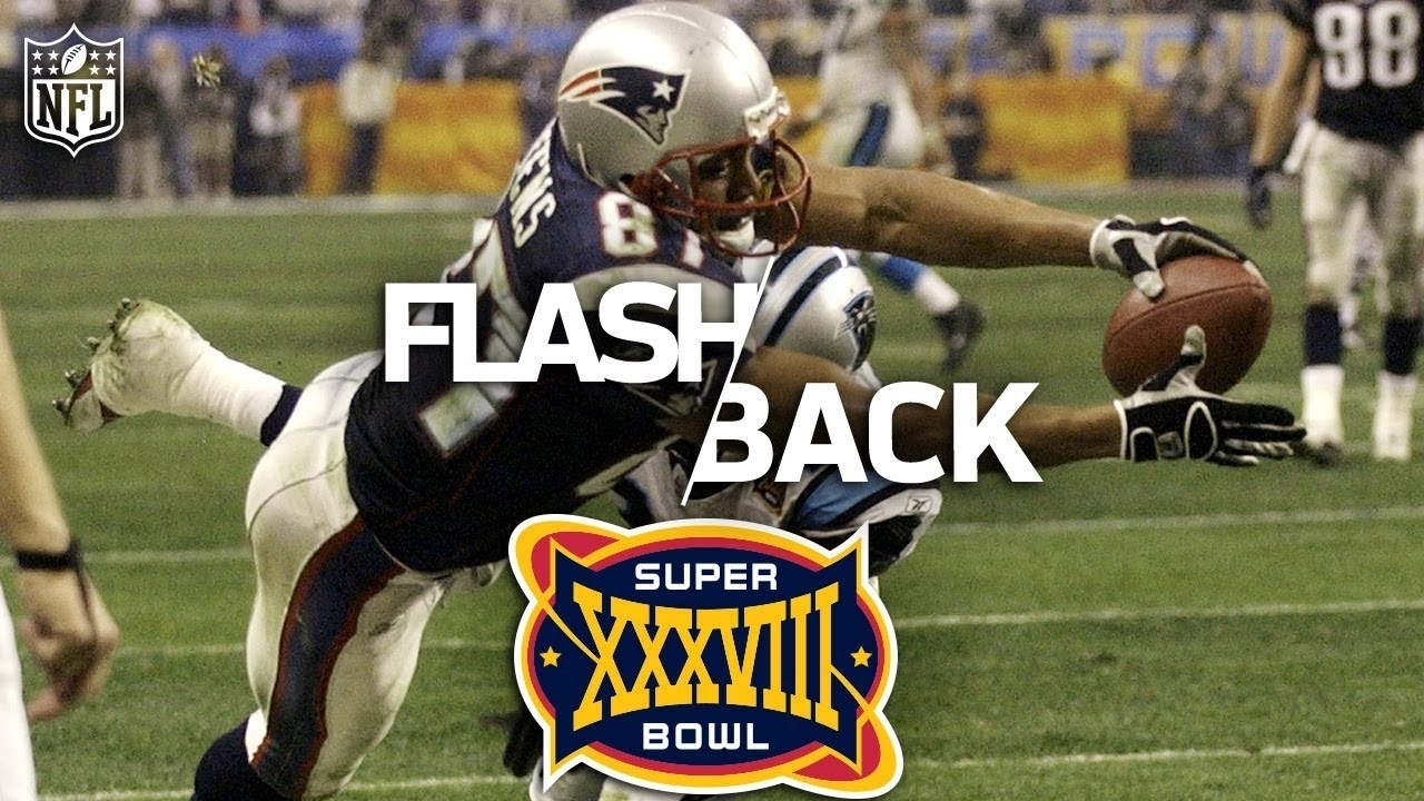 The Most Underrated Super Bowl Ever: Super Bowl 38   Panthers Vs. Patriots    Nfl Vault Stories pertaining to Patriots Panthers Super Bowl