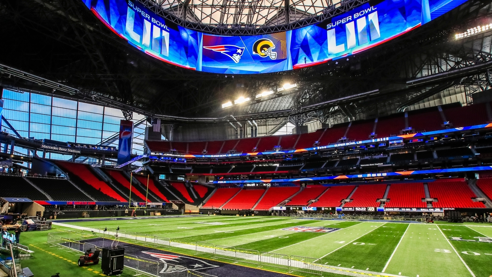 The Numbers Behind Super Bowl Liii with Super Bowl Attendance 2019