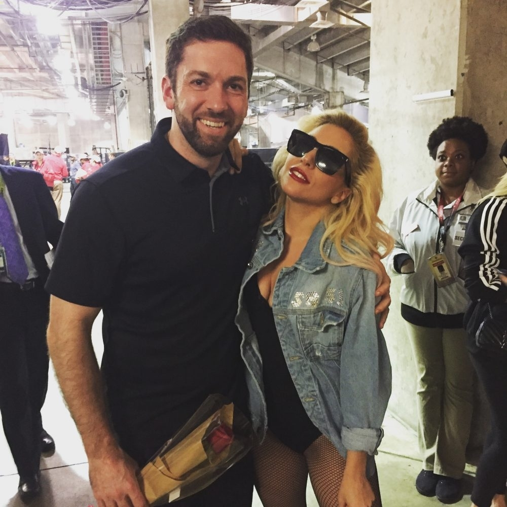 The Quarterback Who Completed A Pass To Lady Gaga At Super with Lady Gaga Super Bowl 2018
