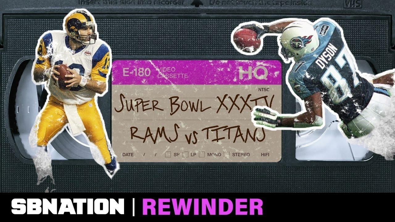 The Rams-Titans Super Bowl Had One Of The Greatest Endings Ever, And It  Needs A Deep Rewind pertaining to Rams Titans Super Bowl