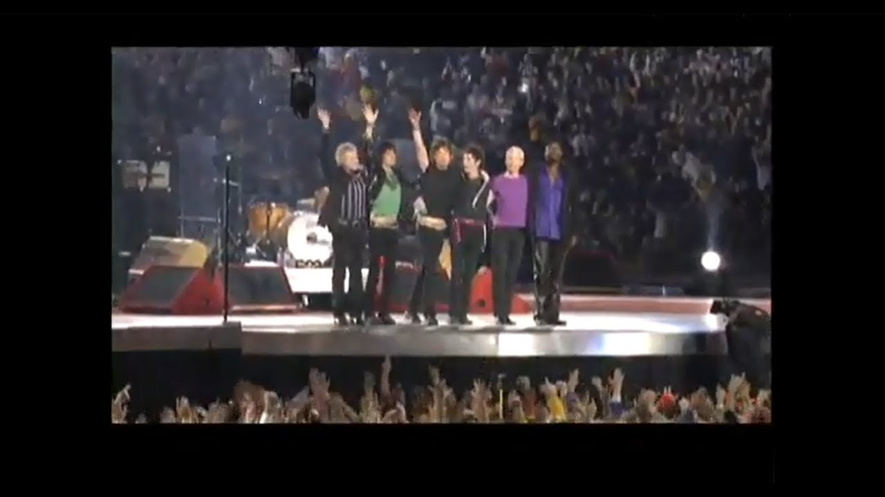 The Rolling Stones - Super Bowl Behind The Scenes pertaining to Rolling Stones Super Bowl