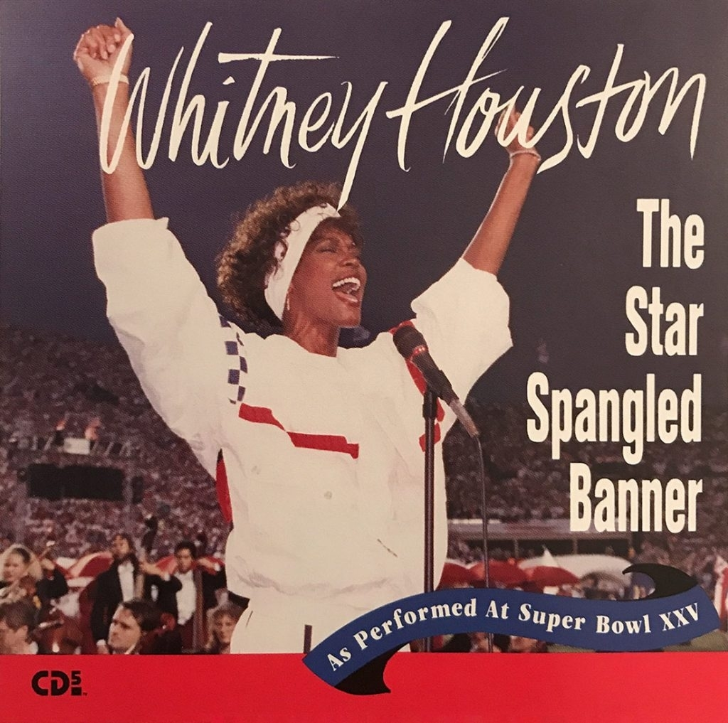 The Star Spangled Banner | Whitney Houston Official Site for Whitney Houston Super Bowl