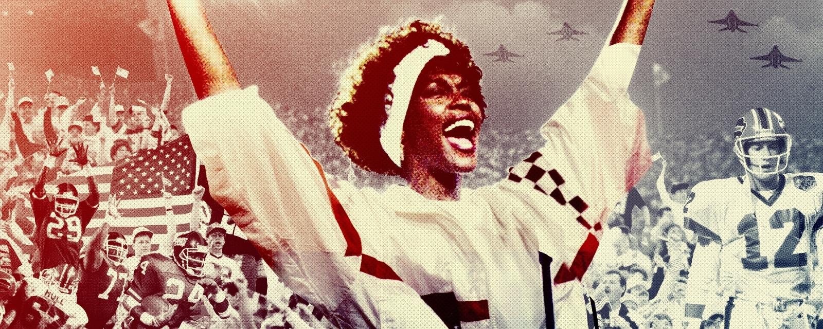 The Story Of Whitney Houston's Epic National Anthem regarding Whitney Houston Super Bowl
