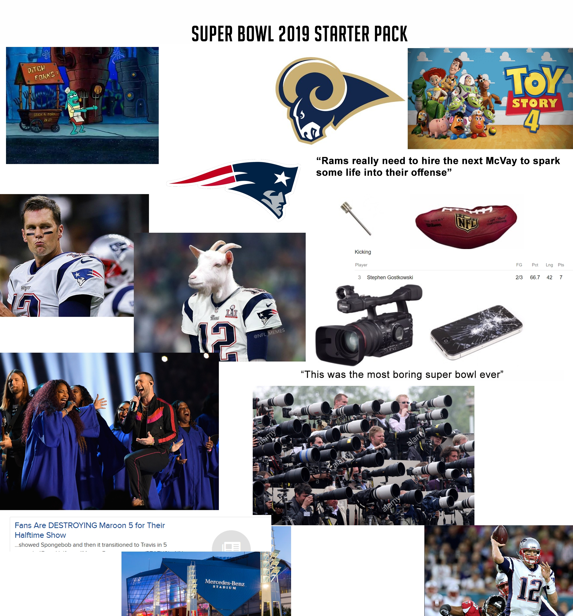 The Super Bowl 2019 Starter Pack : Starterpacks for Super Bowl 2019 Reddit