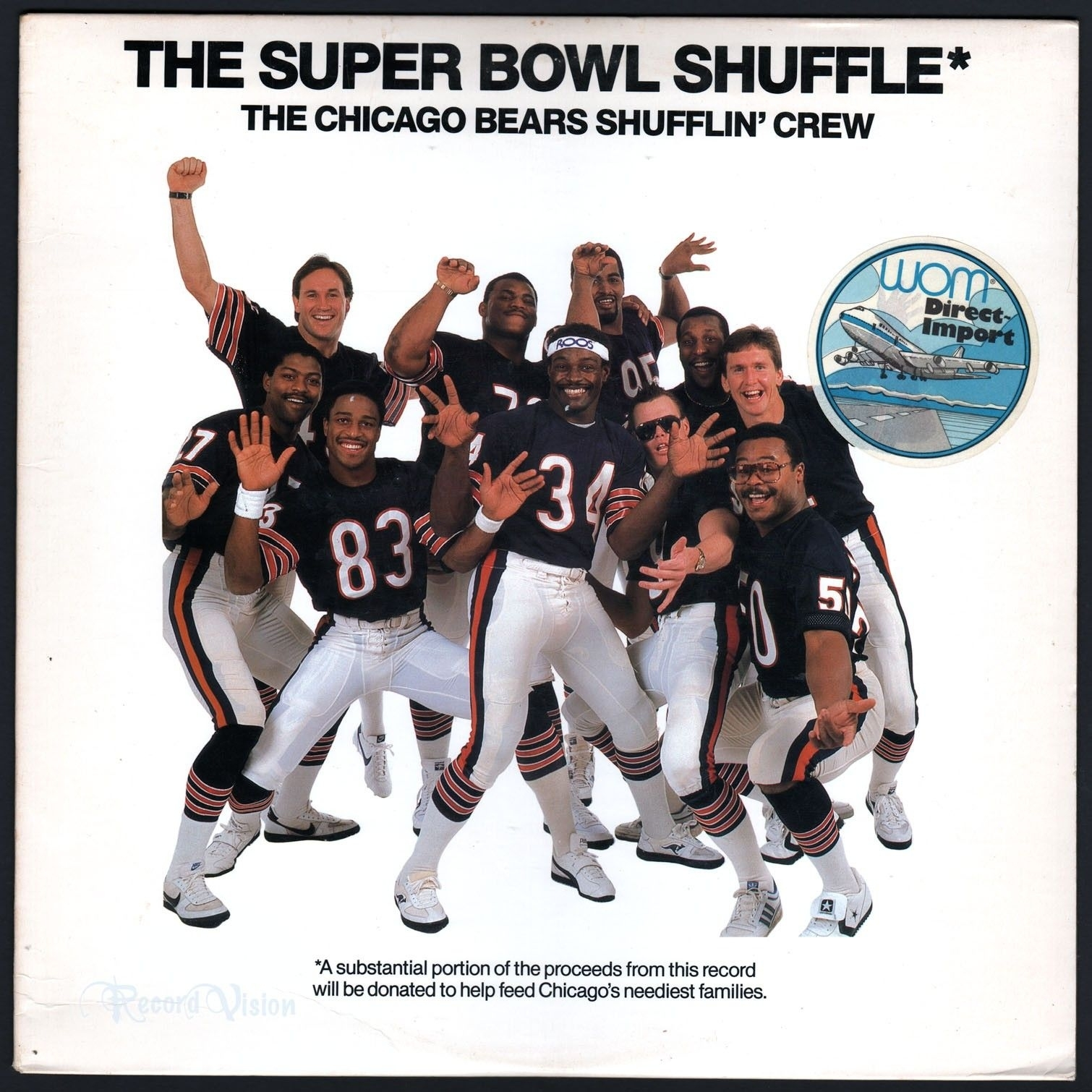 """The Super Bowl Shuffle"""" Is A Rap Song Performedplayers with regard to The Super Bowl Shuffle"""