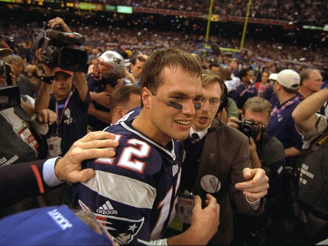 The World Was A Lot Different The First Time Tom Brady Won A with regard to Tom Brady First Super Bowl