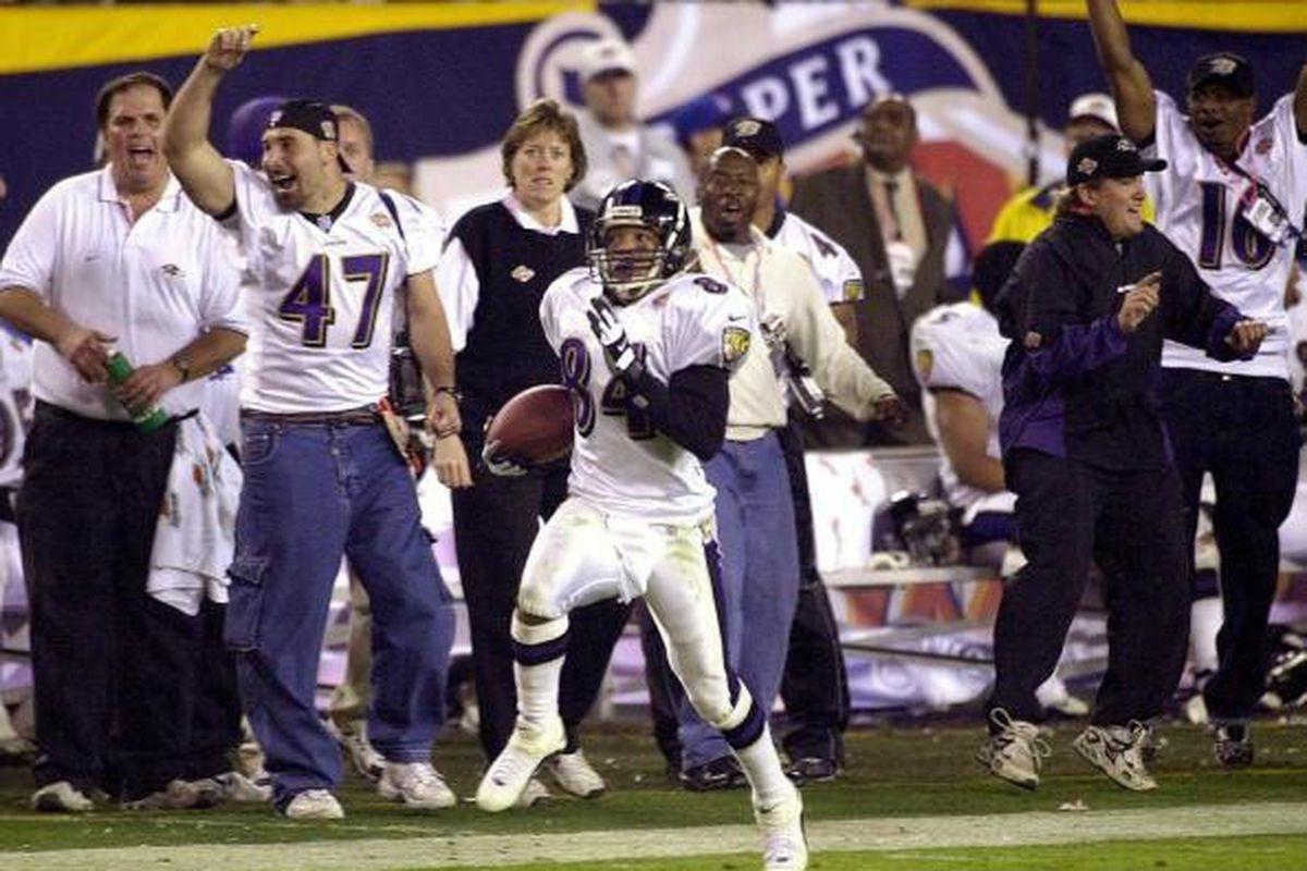 Throwback Thursday: Ravens Destroy Giants In Super Bowl 35 intended for Ravens Giants Super Bowl