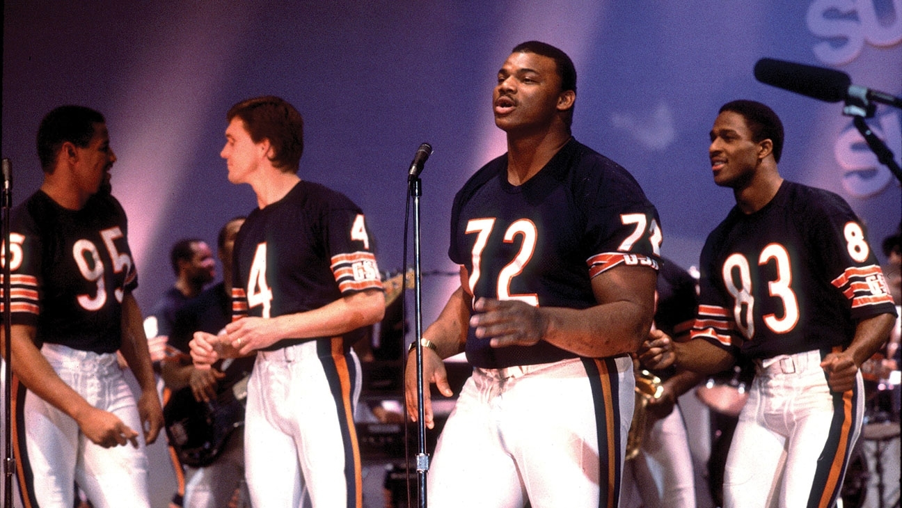 """Throwback Thursday: When The Chicago Bears Sang """"the Super for The Super Bowl Shuffle"""