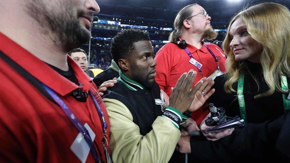 Tipsy' Kevin Hart Mocked For Super Bowl Antics - Cnn throughout Kevin Hart Super Bowl