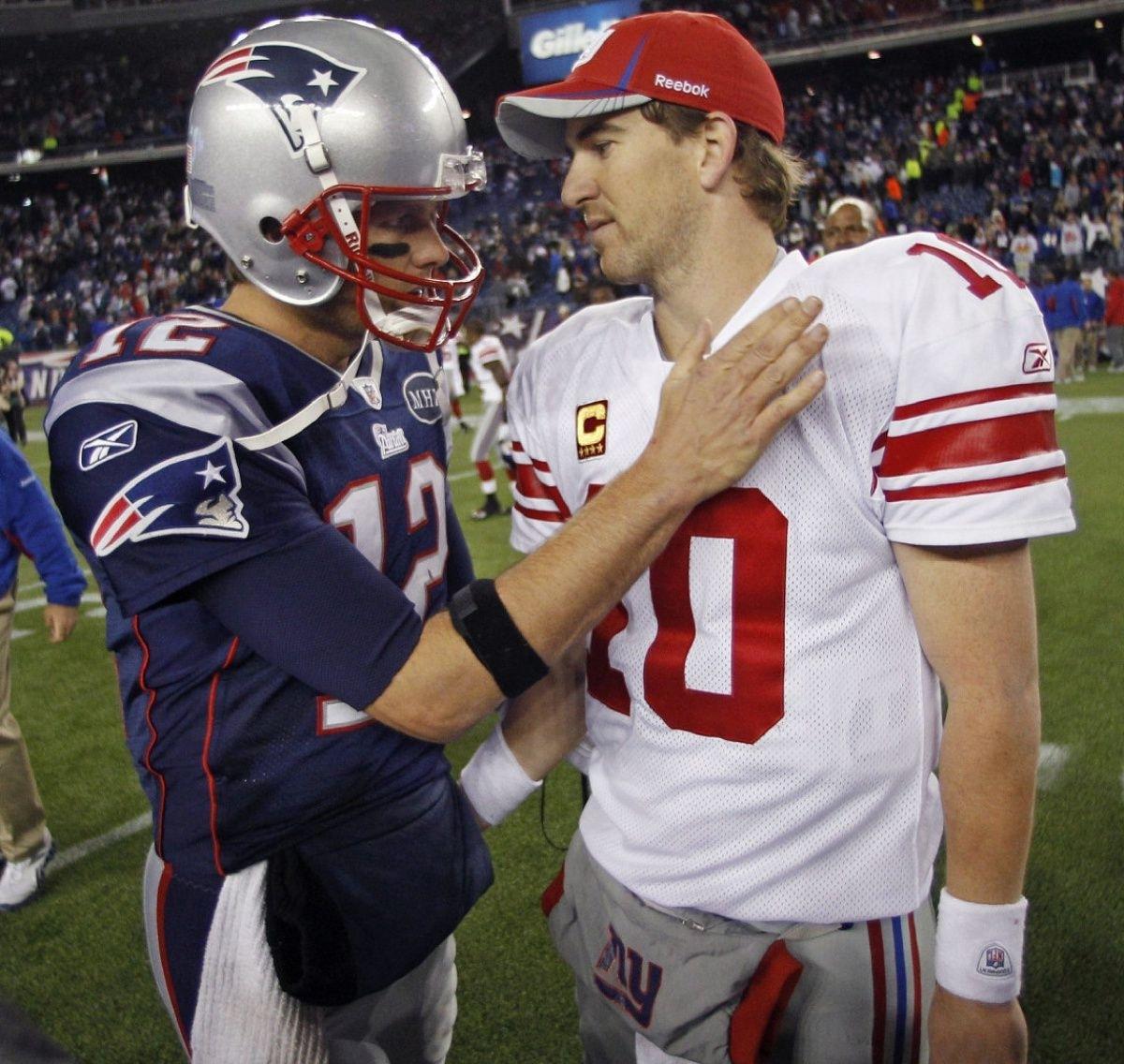 Tom Brady-Eli Manning Super Bowl Rematch Would Set Tv pertaining to Eli Manning Super Bowl