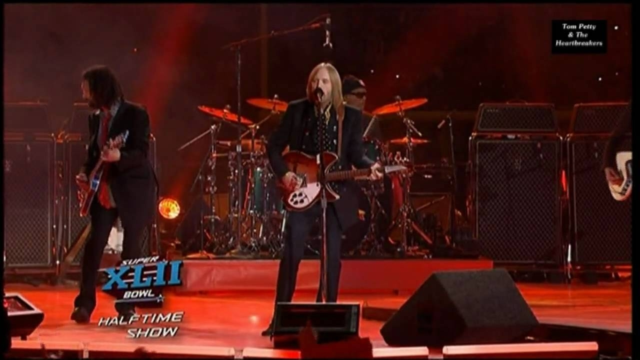Tom Petty & The Heartbreakers - Super Bowl Xlii (42) 2008 Part 1 0815007 in Tom Petty Super Bowl