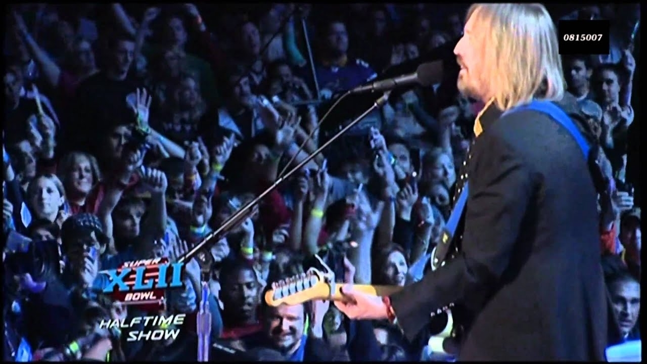 Tom Petty & The Heartbreakers - Super Bowl Xlii (42) (Live 2008) Hd 0815007 intended for Tom Petty Super Bowl