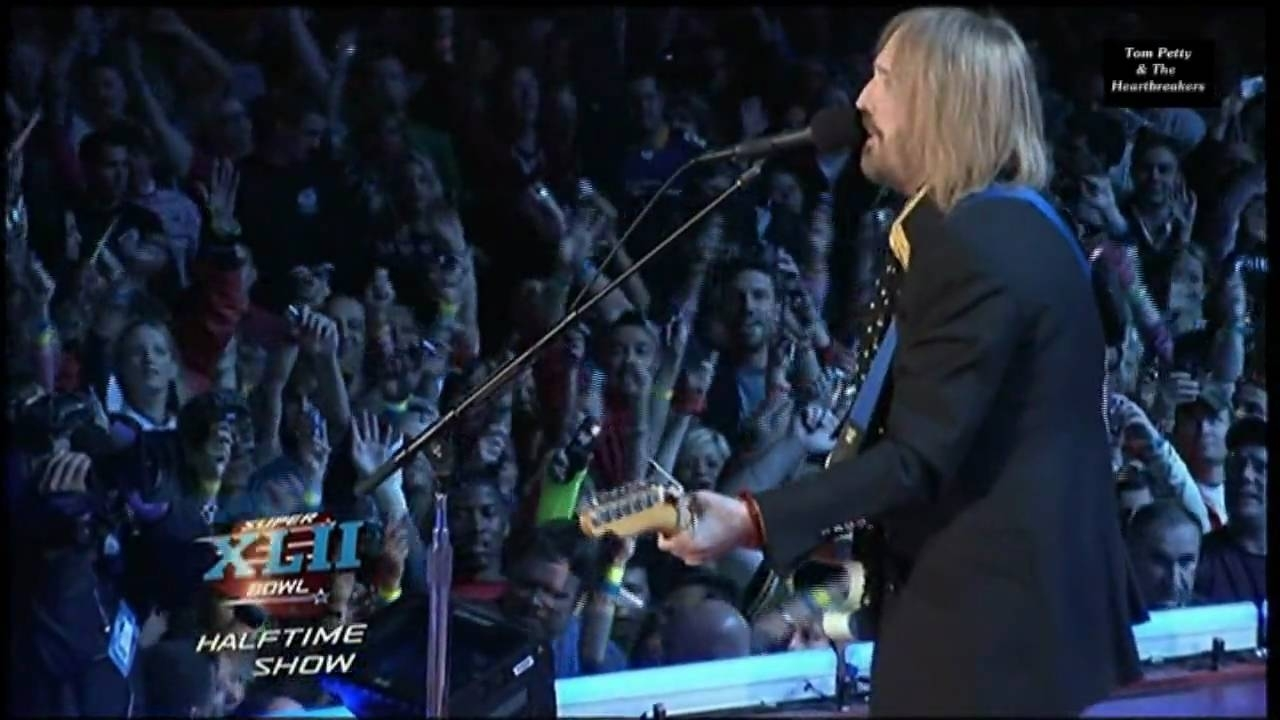 Tom Petty & The Heartbreakers - Super Bowl Xlii(42) 2008 Part 2 Hd 0815007 inside Tom Petty Super Bowl