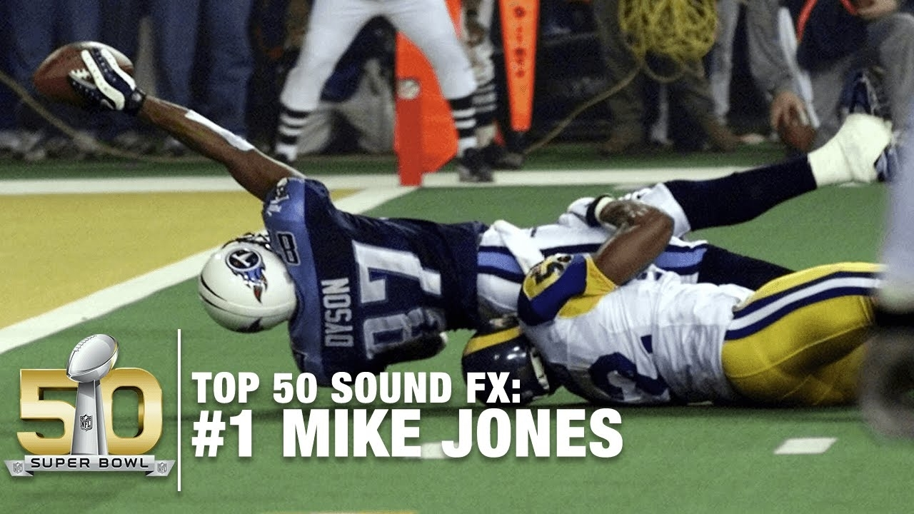 Top 50 Sound Fx | #1: One Yard Short! | Nfl regarding Tennessee Titans Super Bowl