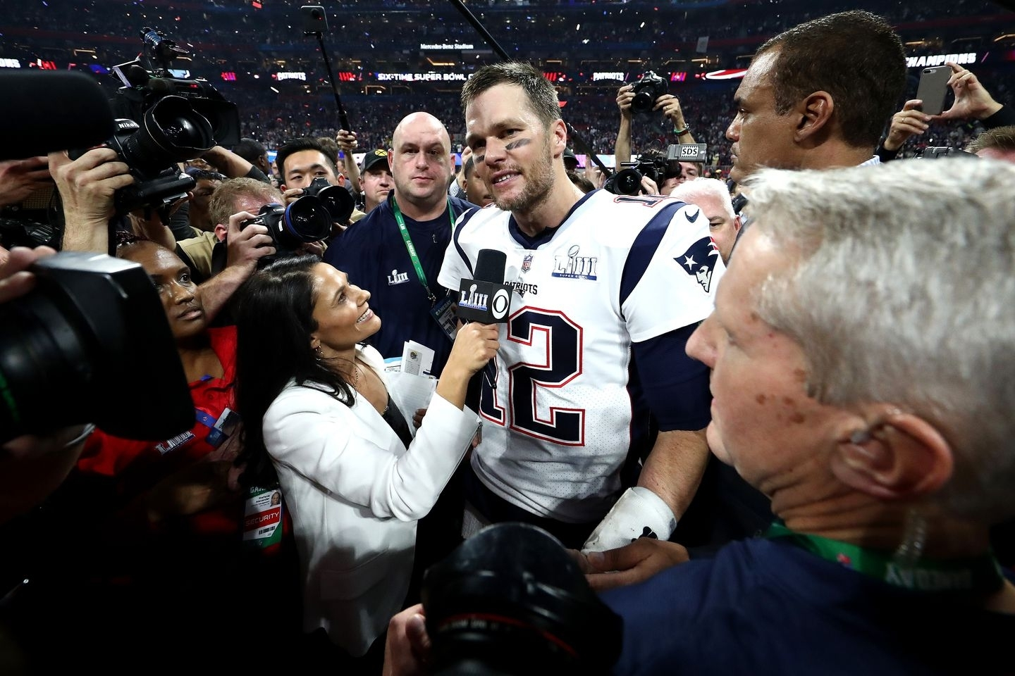 Tracy Wolfson On Her Post-Super Bowl Interview With Tom in Cbs Super Bowl Mvp Vote