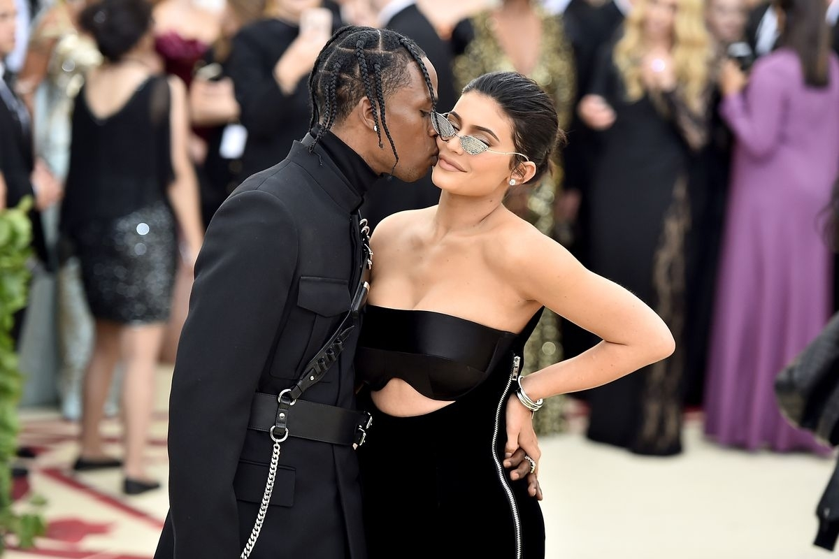 Travis Scott Didn't Propose To Kylie Jenner During Super in Kylie Jenner Super Bowl