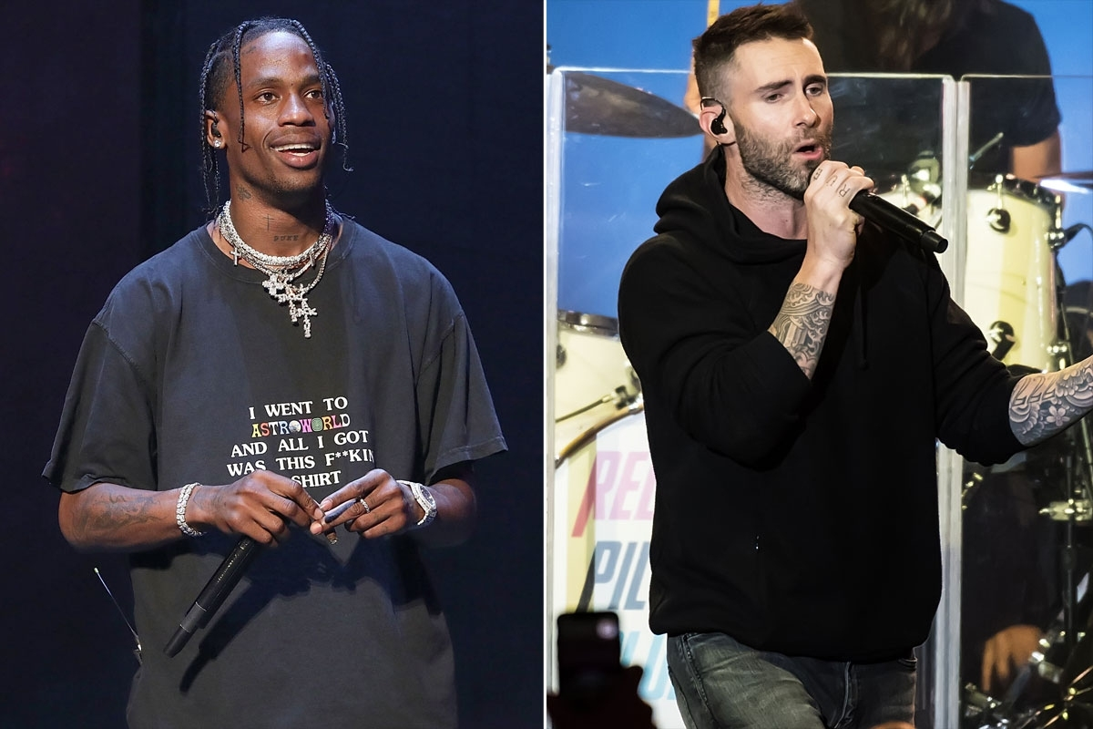 Travis Scott To Perform At Super Bowl With Maroon 5 | People inside Maroon 5 Travis Scott