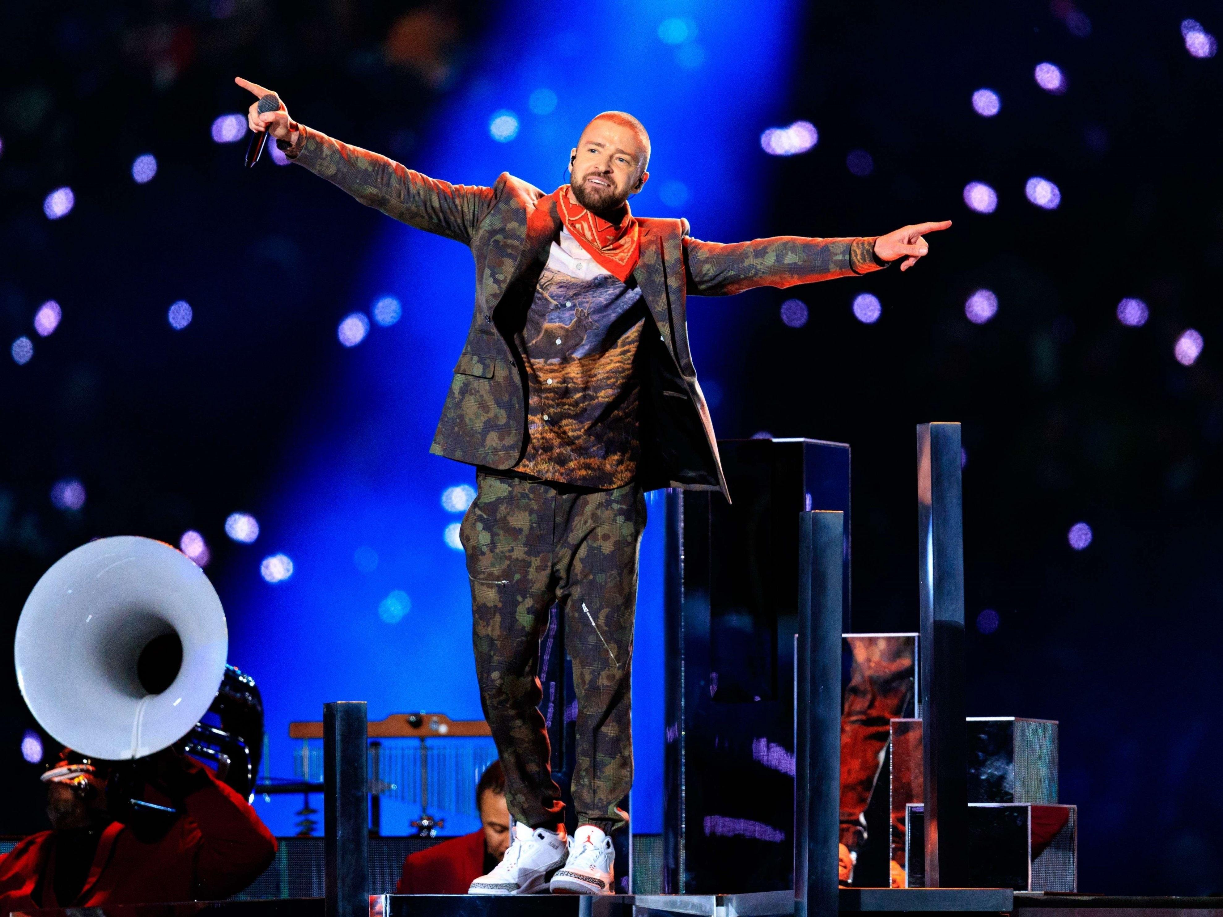 Unfassbare Halbzeitshow: Justin Timberlake Rockt Den Super intended for Justin Timberlake Super Bowl 2018