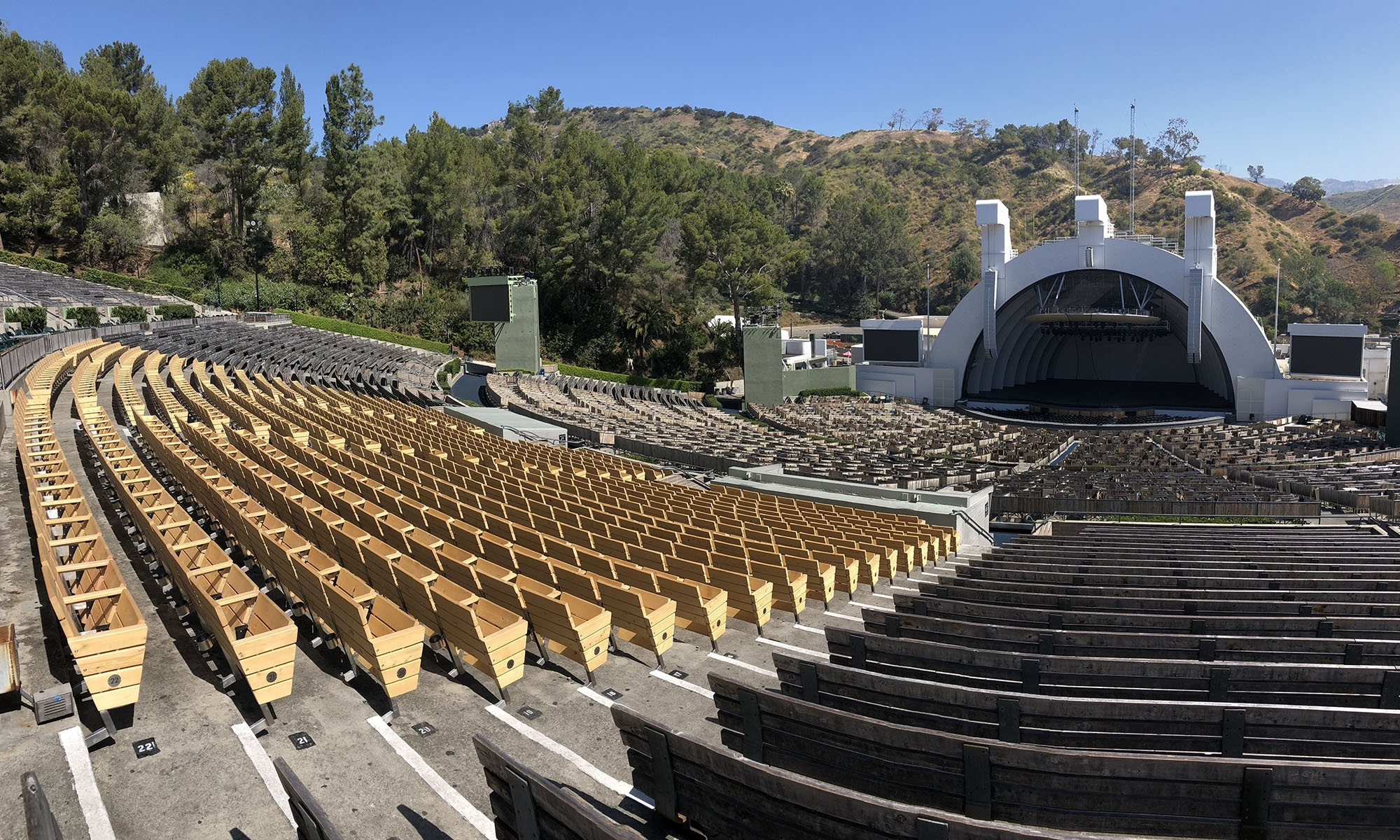 Updated Hollywood Bowl Seating Chart - Hollywood Bowl Tips regarding Hollywood Bowl Seating Chart Super Seats
