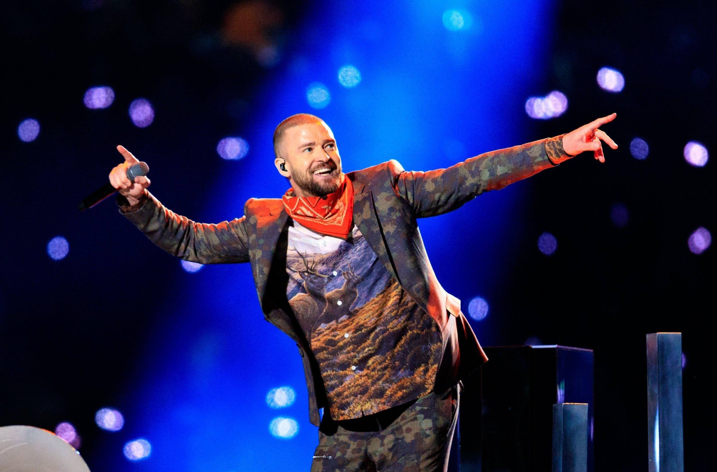 Watch Justin Timberlake's Full Super Bowl Halftime Show for Justin Timberlake Super Bowl 2018