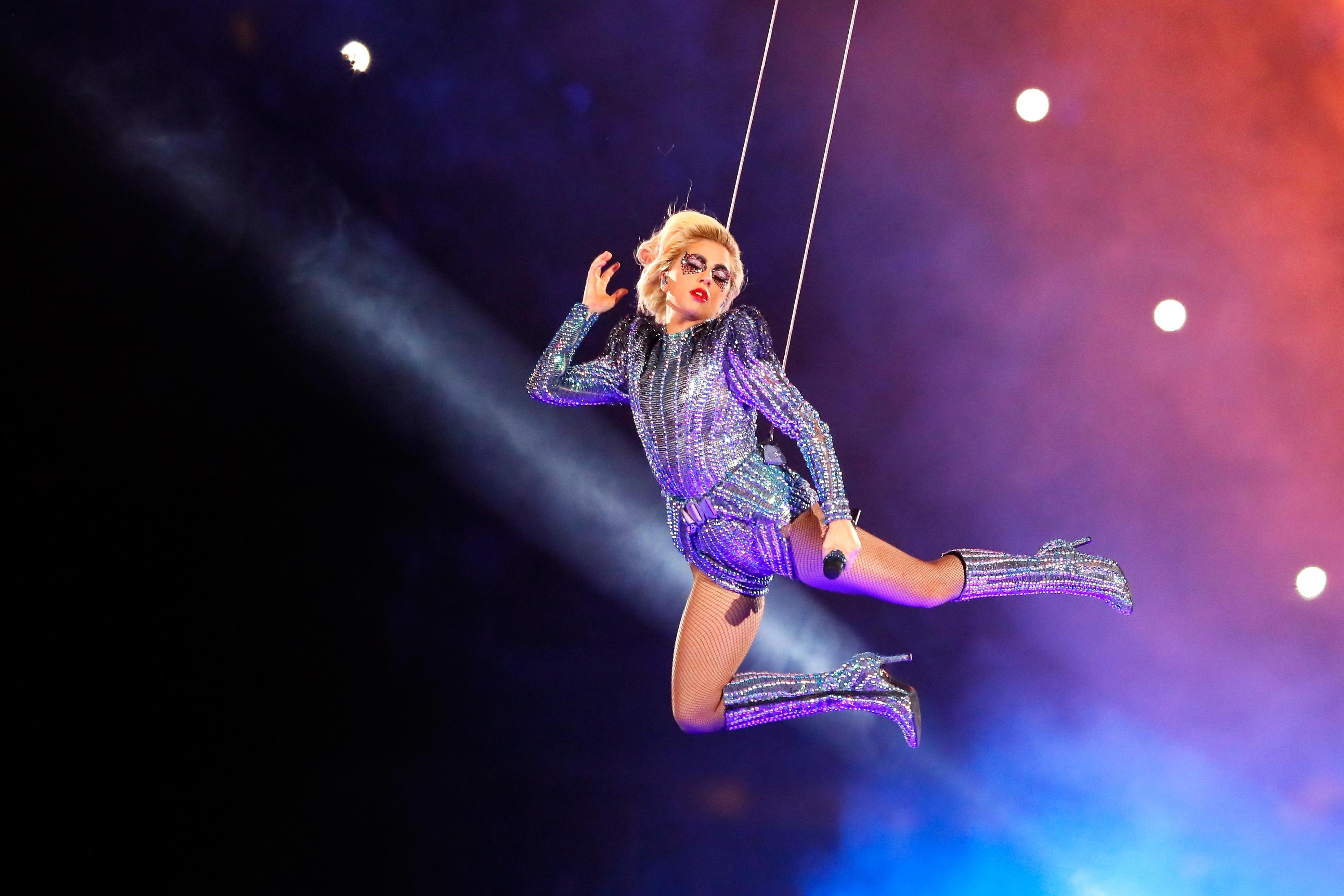 Watch Lady Gaga's Super Bowl 51 Halftime Show – Rolling Stone regarding Lady Gaga Super Bowl 2018