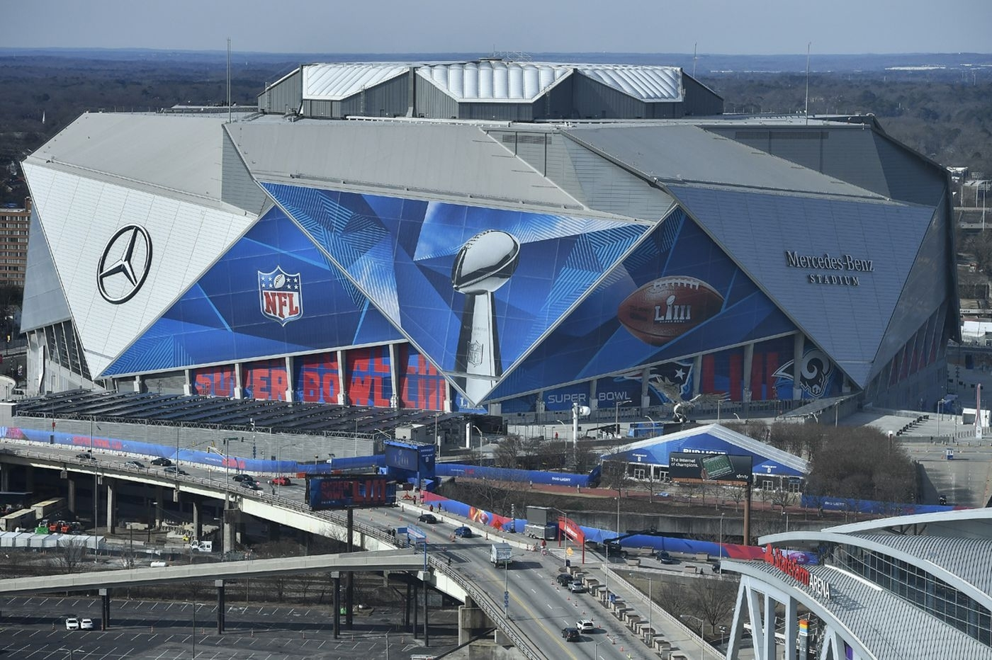 What Time Will Super Bowl 2019 Start (And End) Tonight? regarding Super Bowl 2019 City