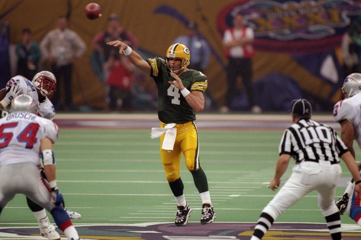 Where Were You When The Packers Won Super Bowl Xxxi? - Acme pertaining to Brett Favre Super Bowl