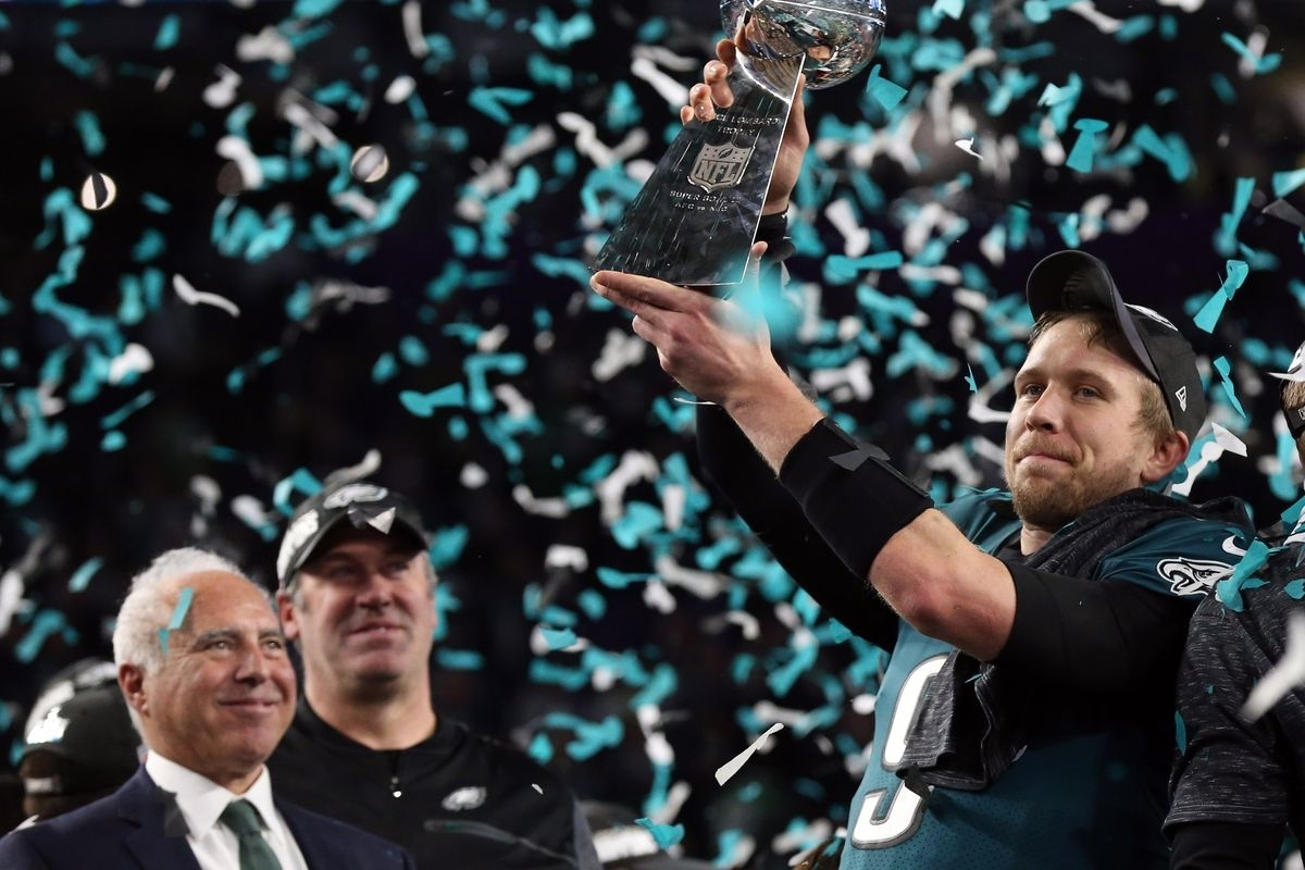 Who Will Eagles' Super Bowl Mvp Nick Foles Play For In 2018 for Nick Foles Super Bowl