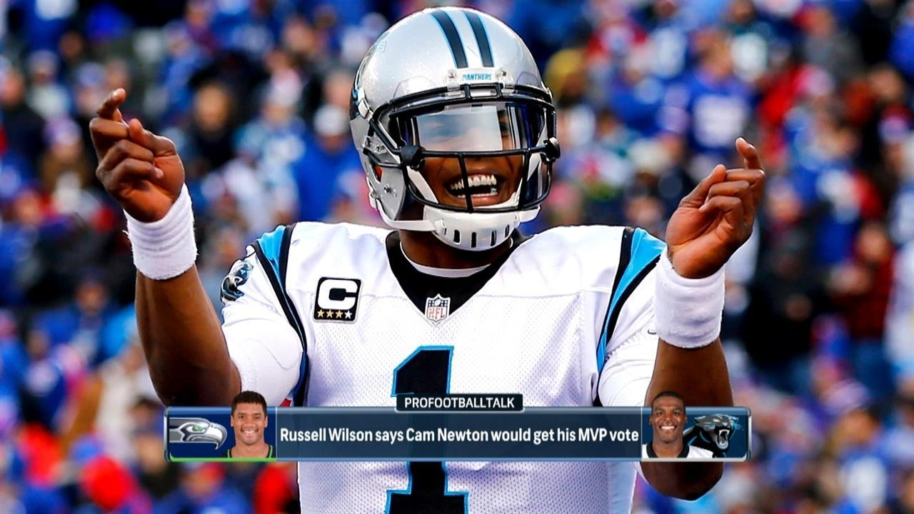 Why Would Russell Wilson Give Cam Newton An Mvp Vote? | Nbc with Nbc Super Bowl Mvp Vote
