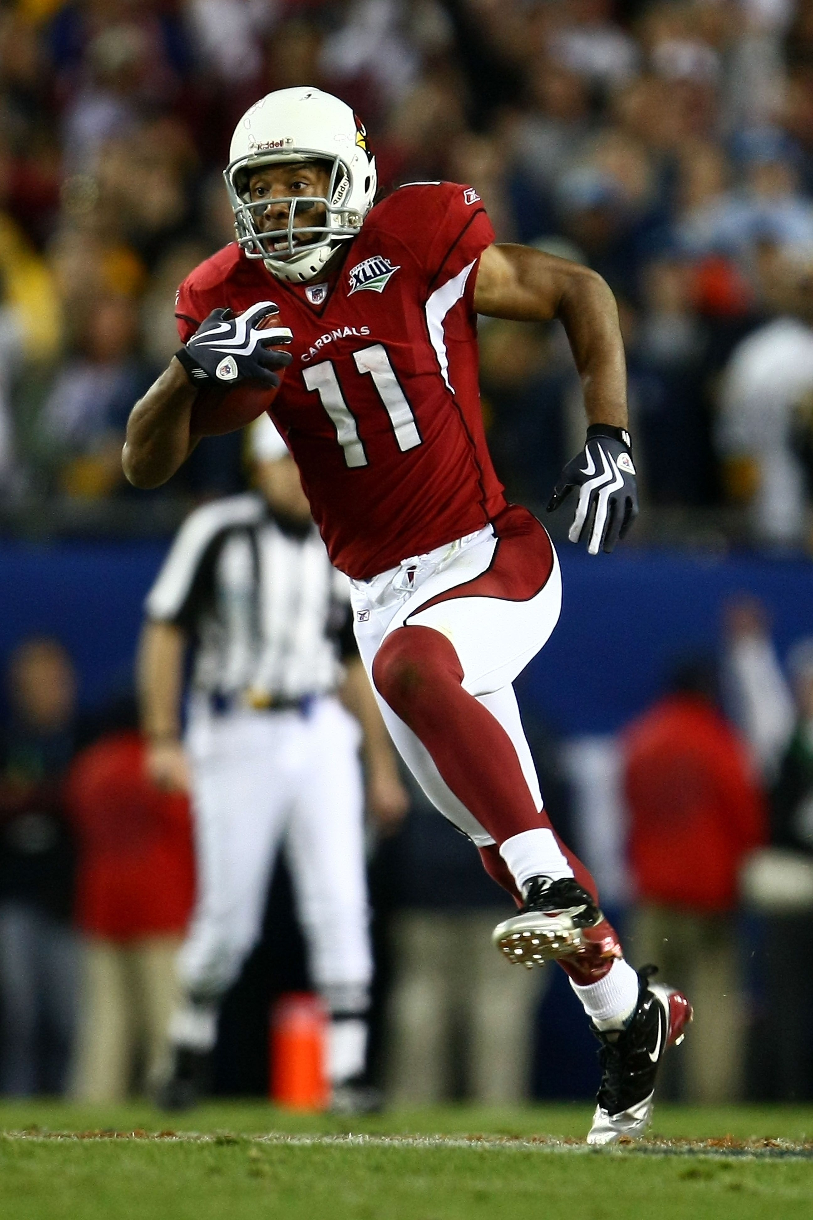 Wide Receiver Larry Fitzgerald Of The Arizona Cardinals intended for Larry Fitzgerald Super Bowl